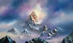 Above the World by Philip Gray -  sized 40x24 inches. Available from Whitewall Galleries